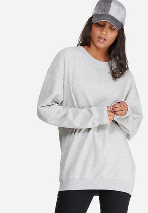 Vero Moda Nico Oversize Sweat T-Shirts, Vests & Camis Grey