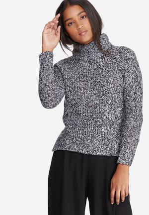 Camille funnel neck knit