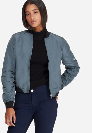 Vero Moda Dicte Bomber Jacket Blue
