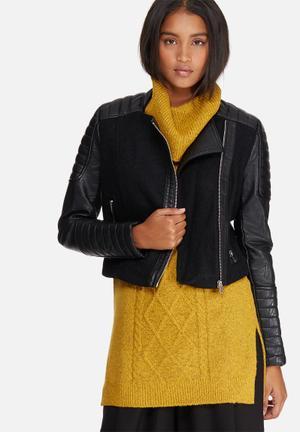 Noisy May Maine Jacket Black