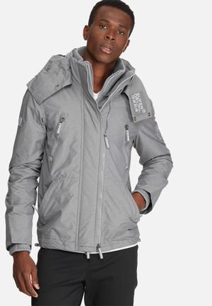 Superdry. Hooded Arctic Wind Attacker Jacket Grey