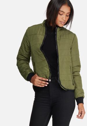 Vero Moda Robin Short Jacket Khaki