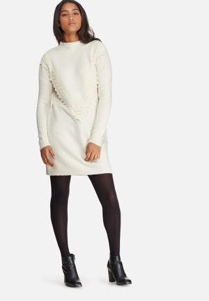 Vero Moda Dolly Dress Casual White