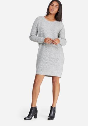 Vero Moda Posh Dress Casual Grey