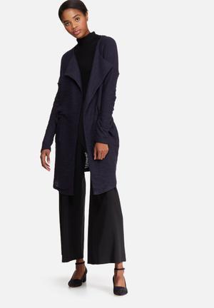 Vero Moda Maggi Drapy Jacket Navy