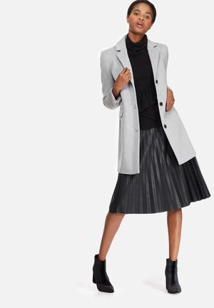 Vero Moda Lien Rich Wool Jacket Grey Melange
