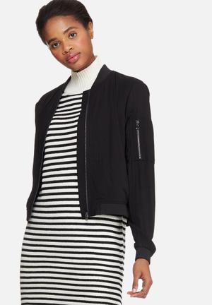 Vero Moda Premium Bomber Jackets Black