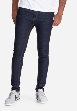 Jack & Jones Jeans Intelligence Liam Skinny Fit Jeans Blue