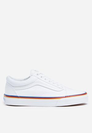 Vans Old Skool Rainbow Foxing Sneakers True White