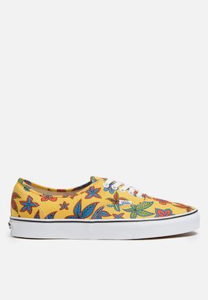Vans Authentic Freshness De La Soul Sneakers Floral / Yellow