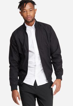 Ben Sherman Harrington Jacket Black