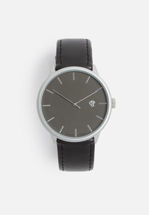 CHPO Khorsid Watches Black & Silver