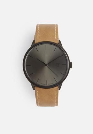 CHPO Khorsid Watches Black & Tan