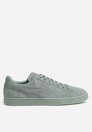 PUMA Suede Classic Tonal Sneakers Agave Green