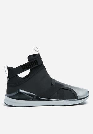 PUMA W Fierce Strap Metallic Sneakers Puma White