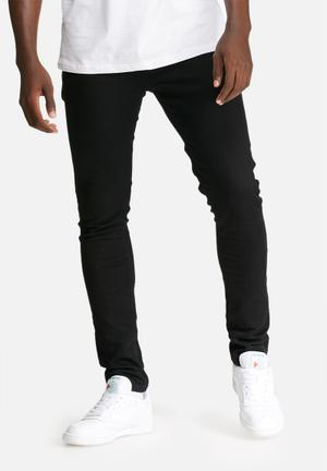 Basicthread Superskinny Jeans Black