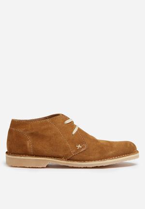 Grasshoppers Hudson Boots Tan