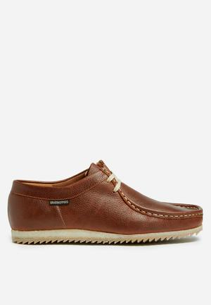 Grasshoppers Jayson Formal Shoes Tan