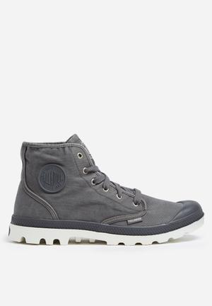 Palladium Mens Pampa HI Boots Grey