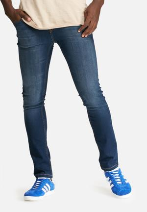 Basicthread Skinny Denim Jeans Blue
