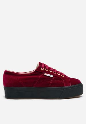 SUPERGA 2790 Velvet Sneakers Red