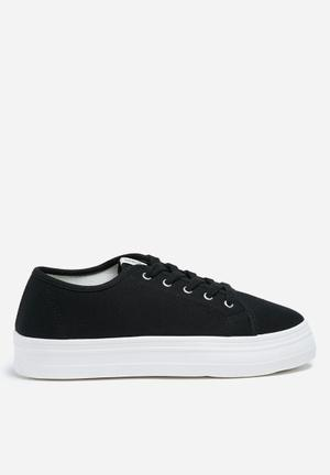 ONLY Sarina Plain Sneaker Black