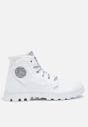 Palladium 70th Anniversary Pampa Hi Boots White