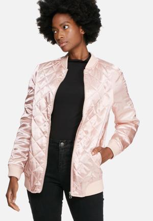 Vero Moda Suma Bomber Jackets Pink
