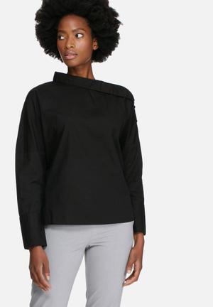 Vero Moda Ailo Off Shoulder Shirt Black
