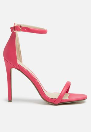 Missguided Barely There Heel Pink