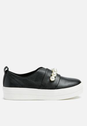 Missguided Pearl Sneaker Black