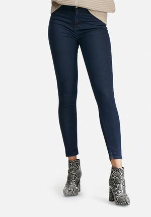 Dailyfriday High Waist Super Stretch Skinny Jeans Blue