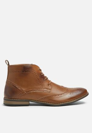 Charles Southwell Bertie Boots Tan