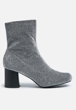 Truffle Triny Boots Silver Glitter