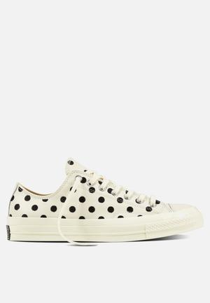 Converse Chuck Taylor All Star 70's Embroidery Sneakers Parchment/Black/Natural