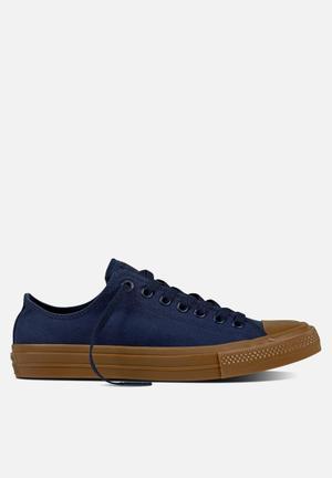Converse Chuck Taylor All Star II Tencel Canvas Sneakers Obsidian/Gum