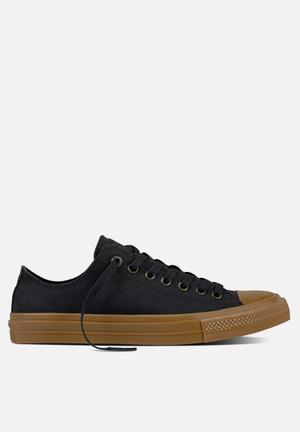 Converse Chuck Taylor All Star II Tencel Canvas Sneakers Black/gum