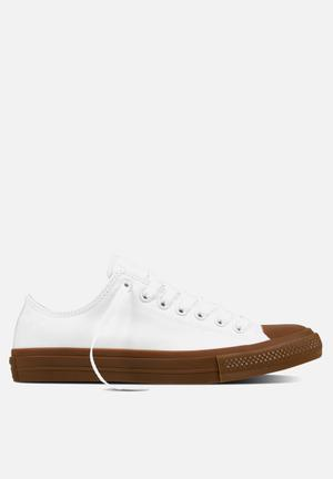 Converse Chuck Taylor All Star II Tencel Canvas Sneakers White/Gum