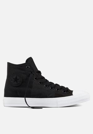 Converse Chuck Taylor All Star Hi Engineered Woven Sneakers Black/Storm/White