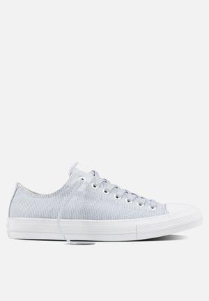 Converse Chuck Taylor All Star II Basketweave Fuse Sneakers White/Blue/White