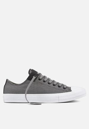 Converse Chuck Taylor All Star II Basketweave Fuse Sneakers Storm/Mouse/White