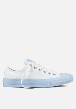 Converse Chuck Taylor All Star II Pastel Sneakers White/Porpoise