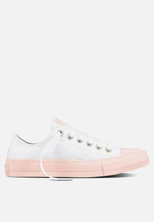 Converse Chuck Taylor All Star II Pastel Sneakers White/Vapor Pink
