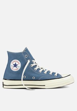 Converse Chuck Taylor All Star HI 70 Vintage Sneakers Blue Coast/Egret/Black