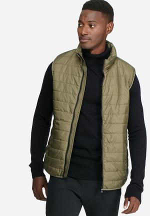 Only & Sons Navas Gillet Jackets Khaki