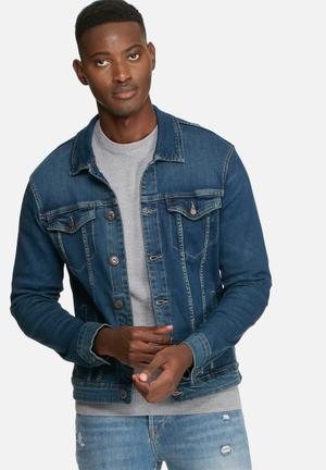 Only & Sons Kenn Denim Jacket Blue