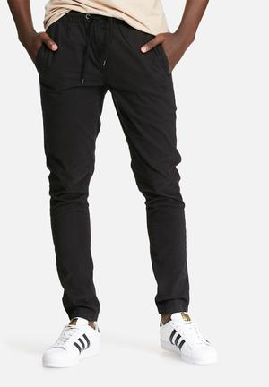 Only & Sons Holger String Chino Black