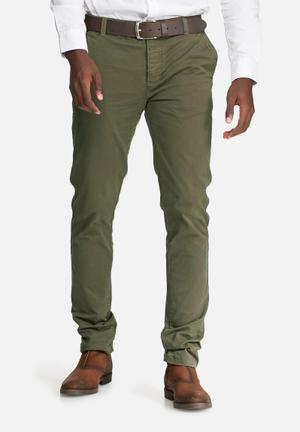 Sergeant Pepper Upstyled Slim Chino Olive