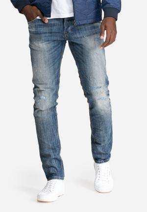 Jack & Jones Jeans Intelligence Glenn Slim Fit Jeans Blue