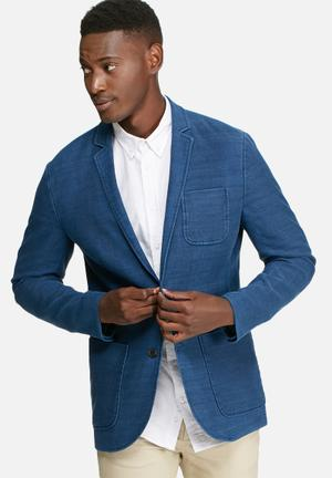 Jack & Jones Premium Bob Slim Fit Blazer Jackets & Coats Blue